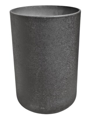 NC Granito Smooth Tall Pot - Black - Small