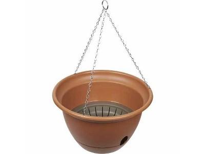 Yates Tuscan Self Watering Hanging Basket - Olive 300mm